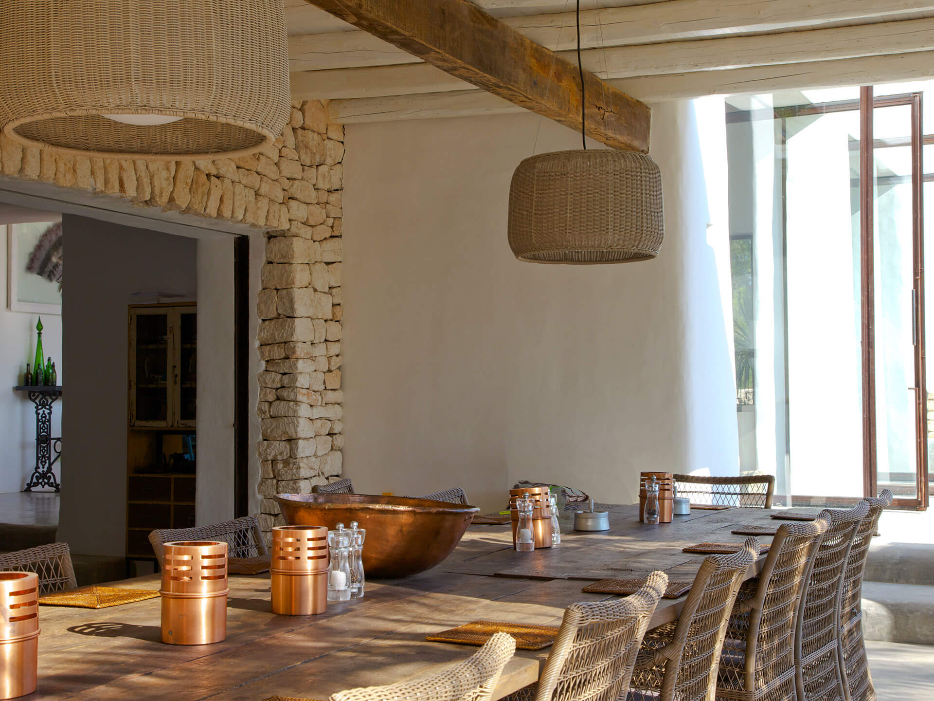biza-outside-dining-space-wicker-interior