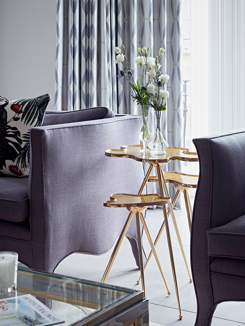Chelsea - SW10 - Living Room - Side Table Stack