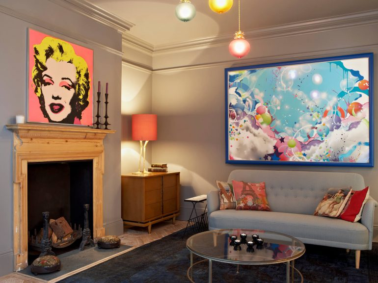 Godrich-Interiors-Lyford-Road-SW18-Living-room-art