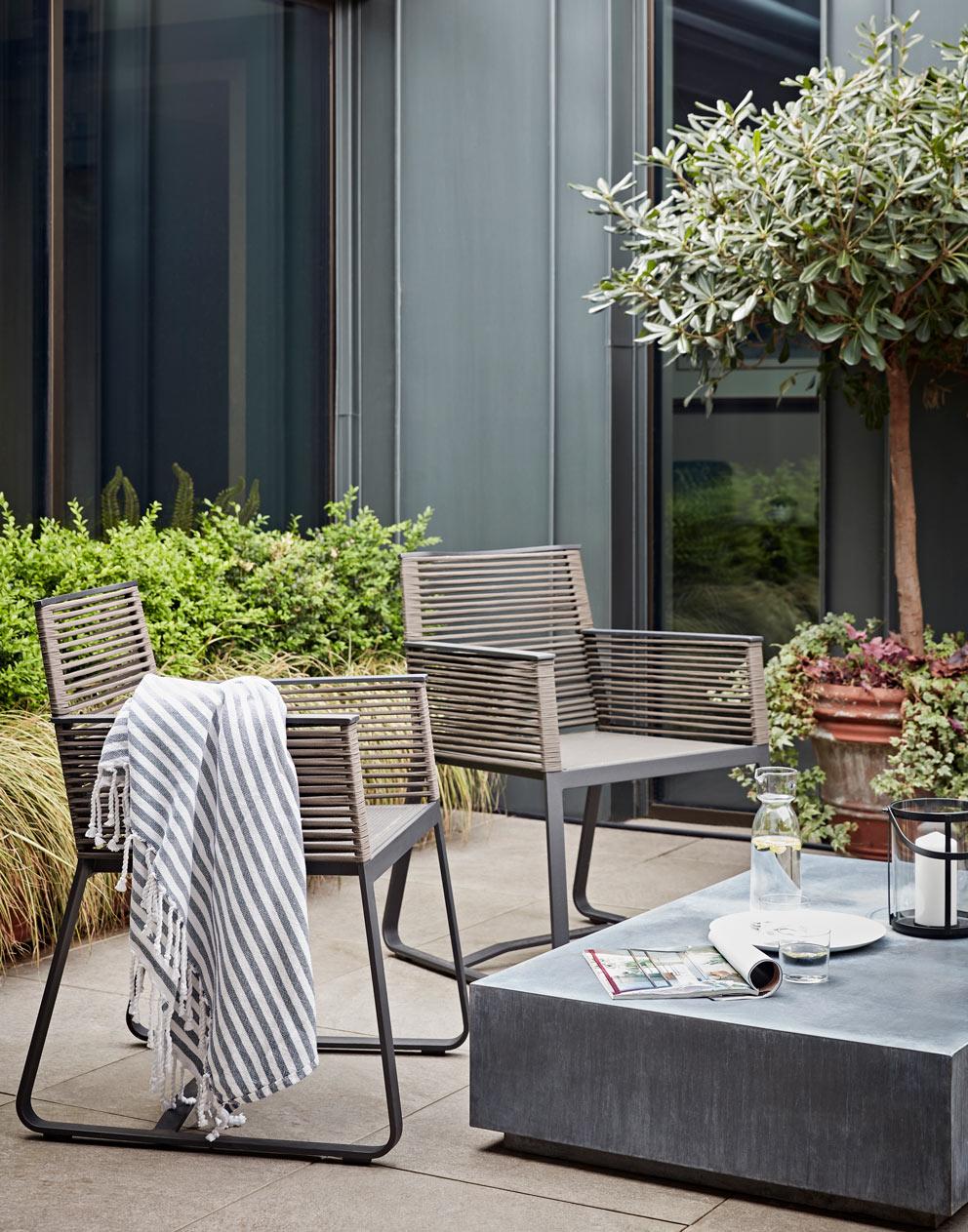 Executive suite terrace