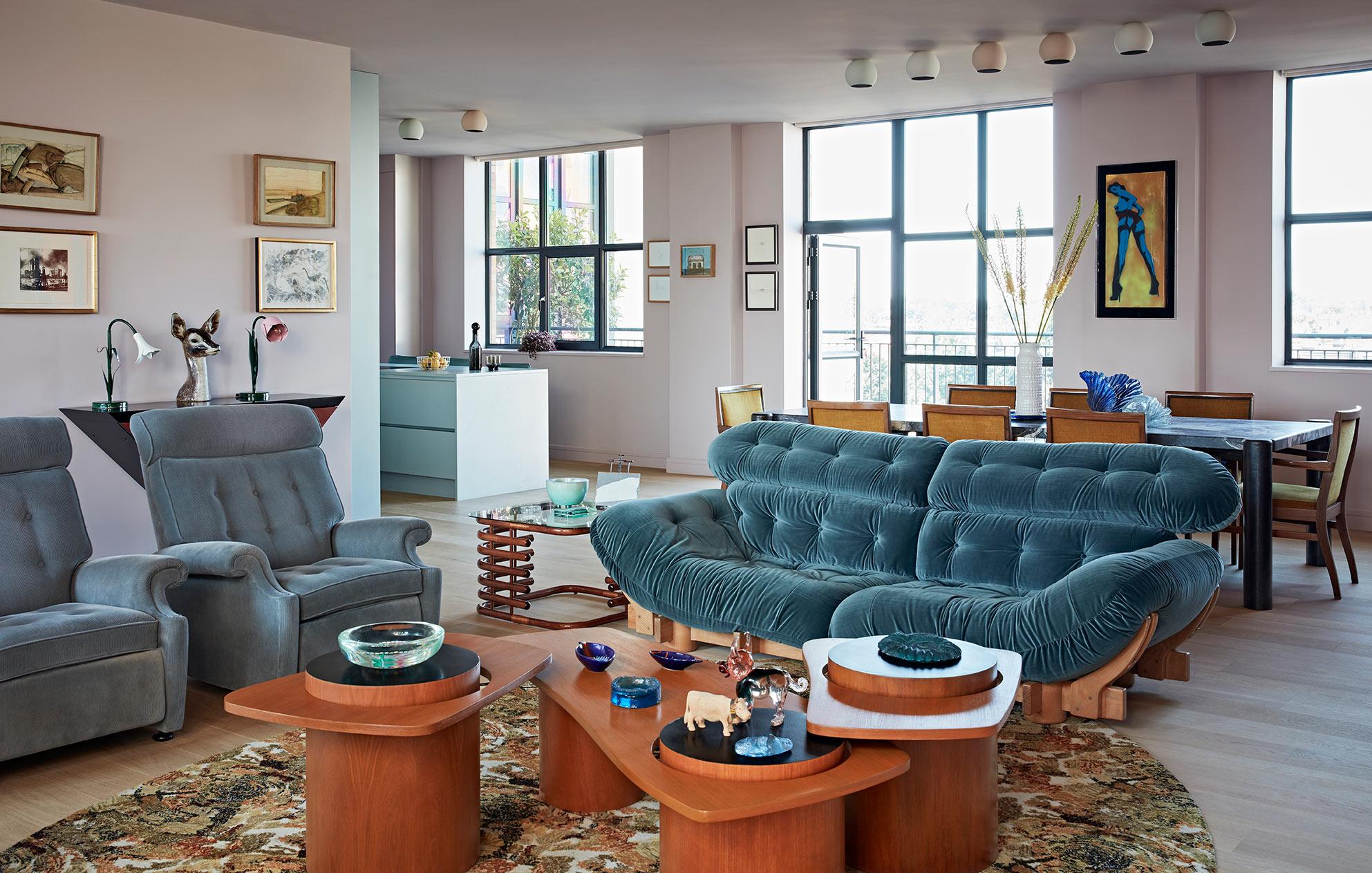 West London sitting room