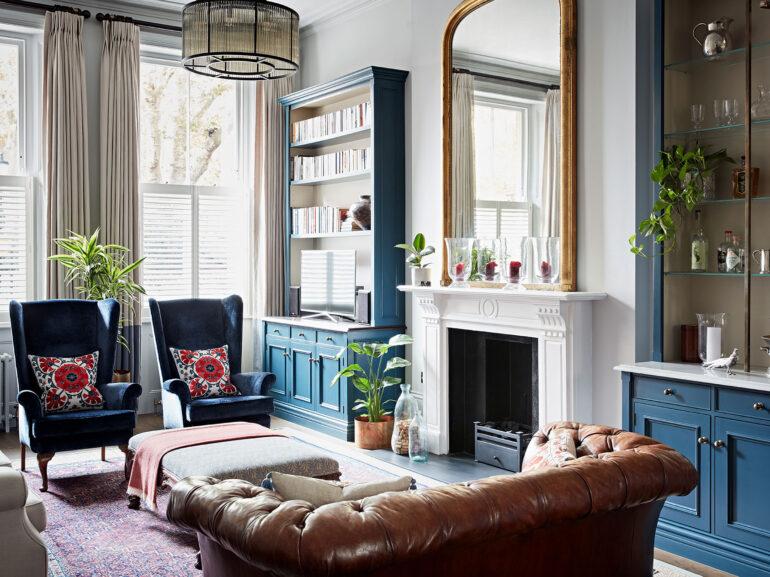 Bespoke interior design of London home